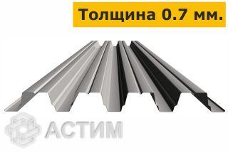 Профлист Н75 0.75х6 м Оцинкованный 0,7 мм