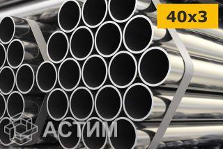 Труба ВГП 40х3 мм водогазопроводная